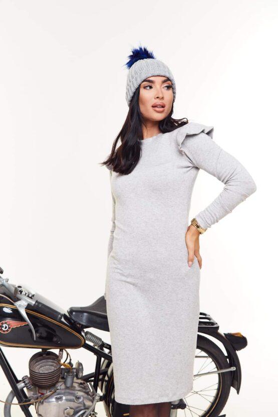 Anna Russo Tiara ruha- szürke