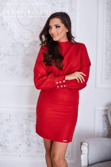 Anna Russo Alice ruha-piros